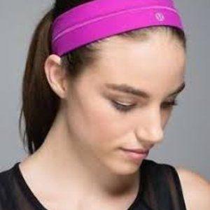 Lululemon Ultra Violet Fly Away Tamer Headband